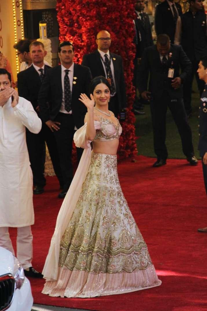 India Tv - Kiara Advani at Isha Ambani Wedding