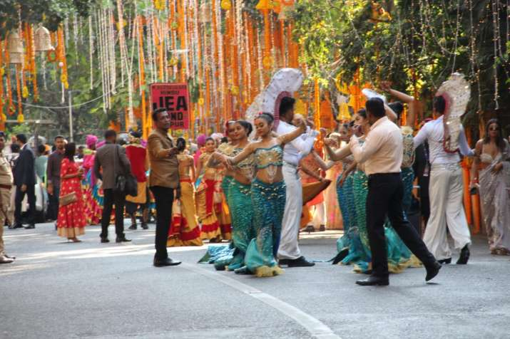India Tv - Isha Ambani Anand Piramal Wedding begins
