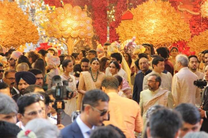 India Tv - Isha Ambani wedding