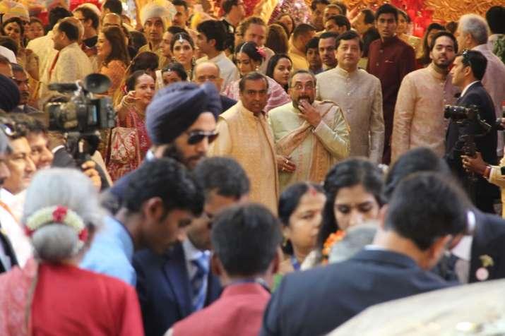 India Tv - Isha Ambani wedding begins