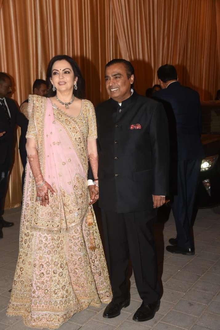 India Tv - Mukesh and Nita Ambani