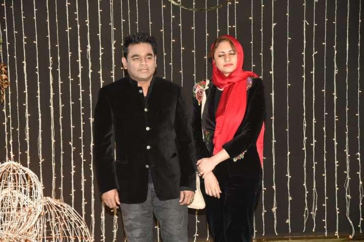 India Tv - AR Rahman with wife
