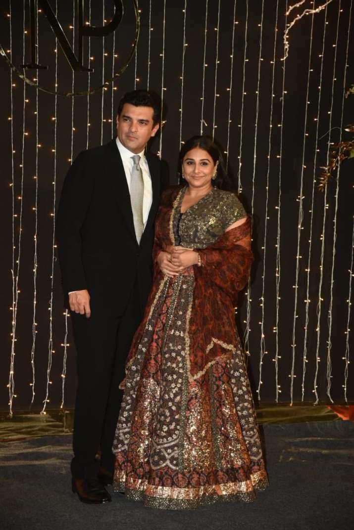 India Tv - Vidya Balan with husband Sidharth Roy Kapoor.