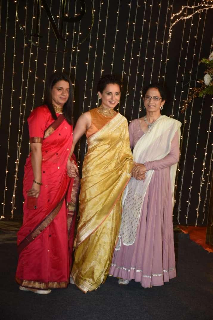India Tv - Kangana Ranaut with sister Rangoli Chandel