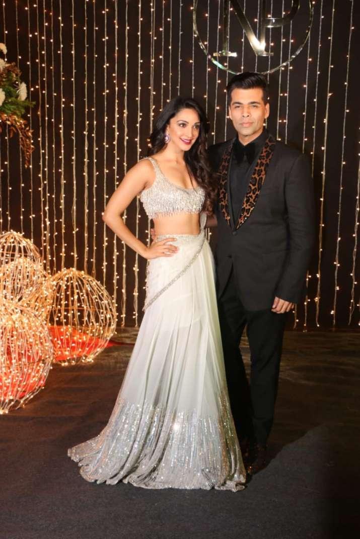 India Tv - Kiara Advani and Karan Johar