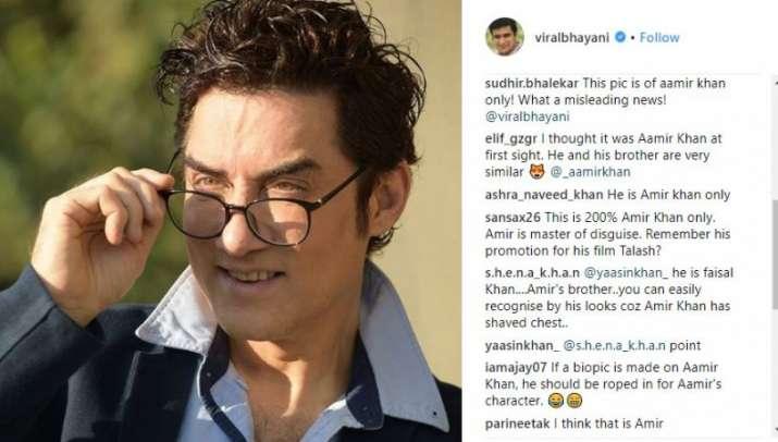 India Tv - Aamir Khan brother