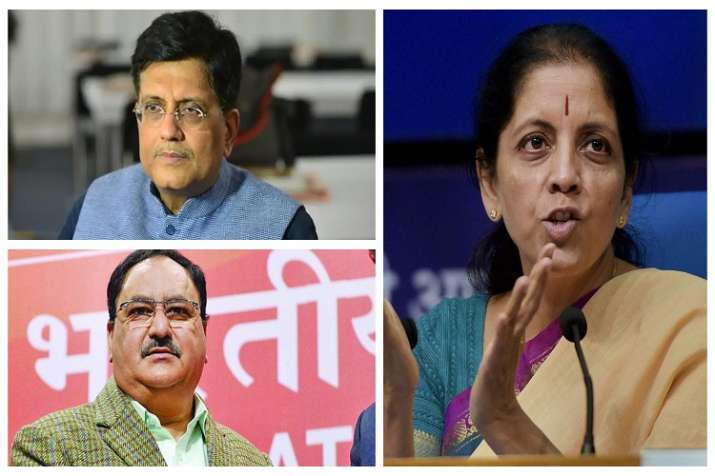 Image result for BJP makes Nadda poll in-charge in UP, Sitharaman in Delhi