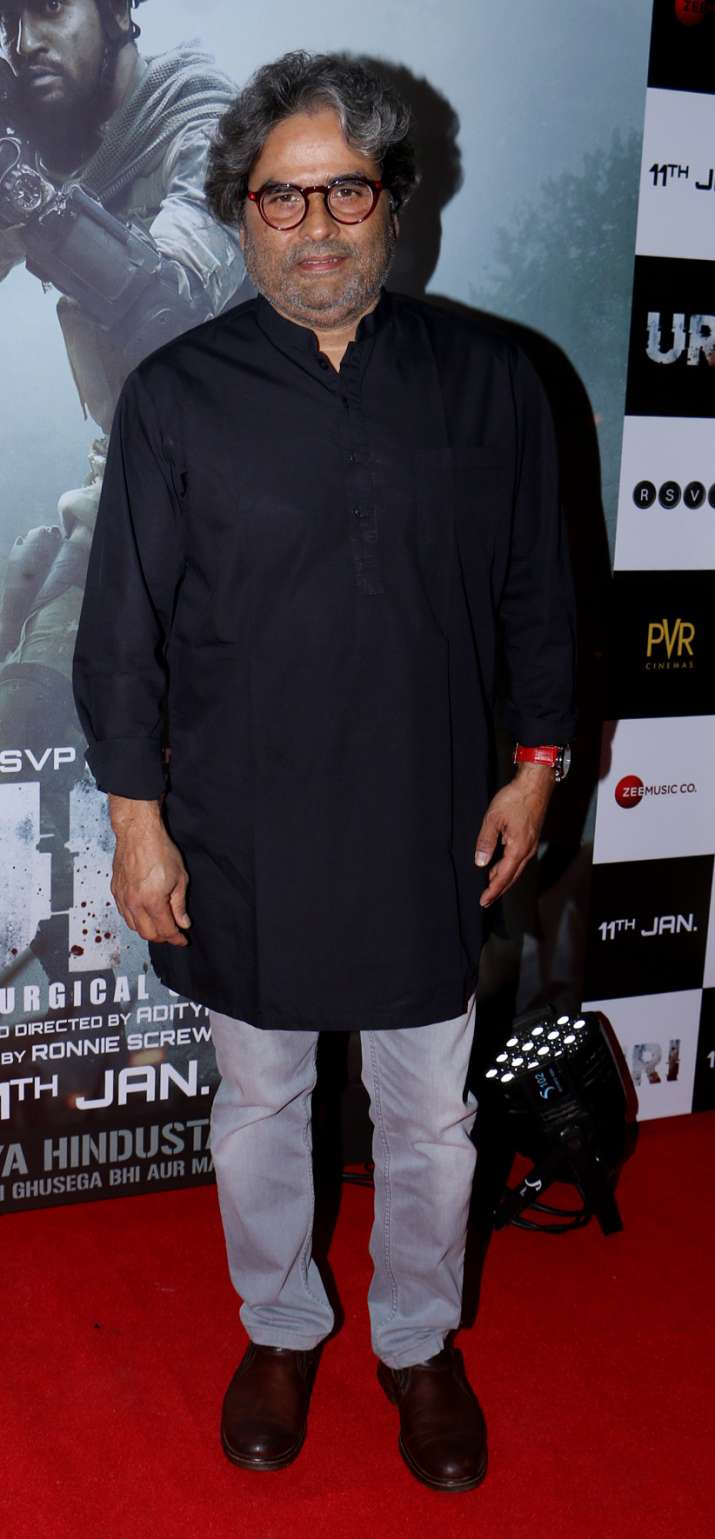 India Tv - Vishal Bhardwaj at Uri Special Screening