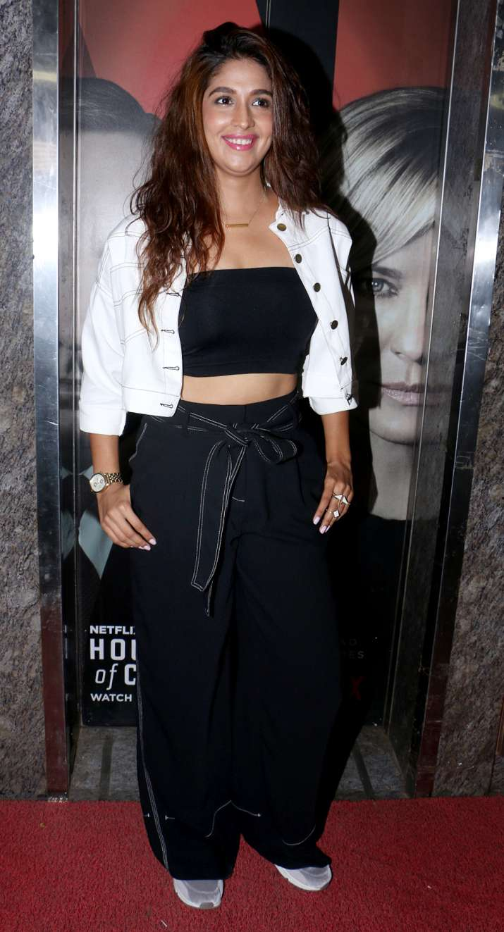 India Tv - Harleen Sethi at Uri Special Screening