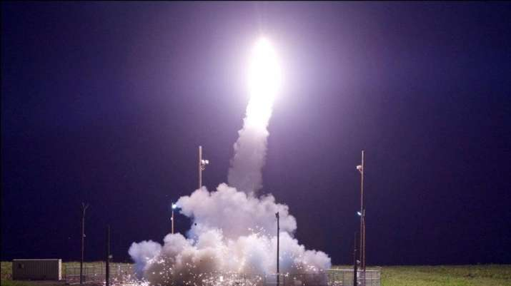 China conducts mock intercontinental ballistic missile