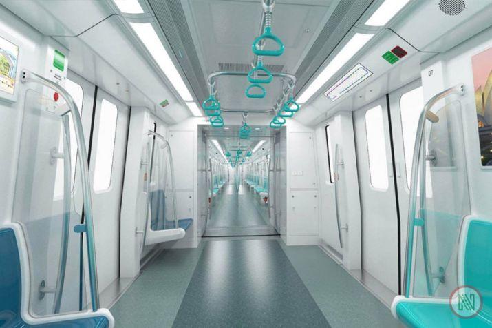The Aqua Line of the Noida Metro Rail Corporation
