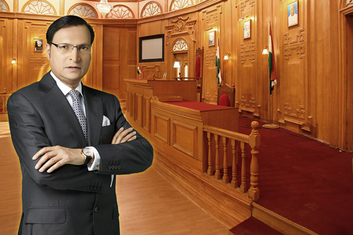 India TV Chairman Rajat Sharma