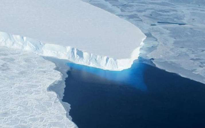 The researchers explained that early Antarctic ice loss was