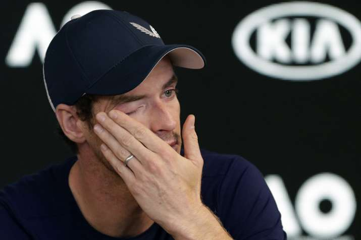 Tearful Andy Murray Announces Australian Open Could Be His Last
