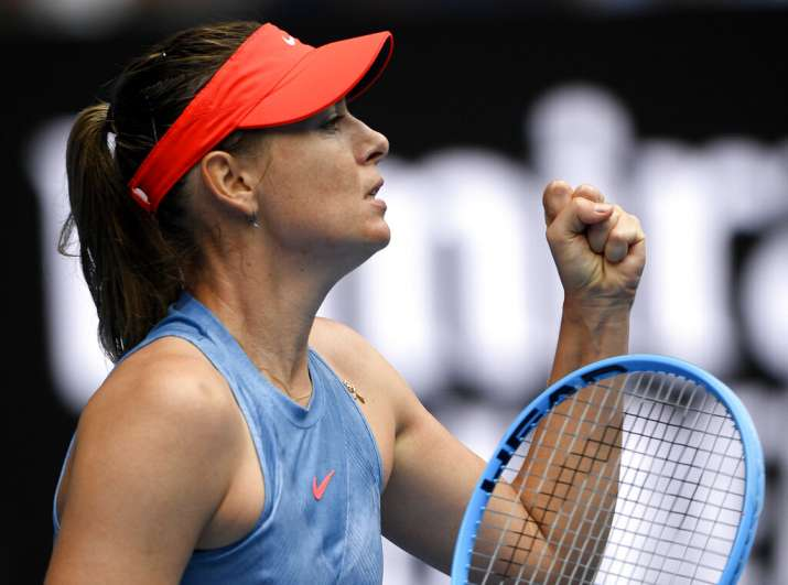 Defending Champ Gone Maria Sharapova Ousts Caroline Wozniacki In