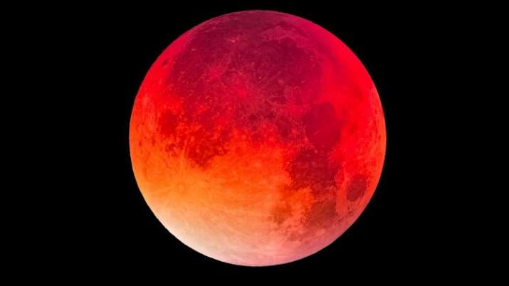 red moon today india time - photo #37