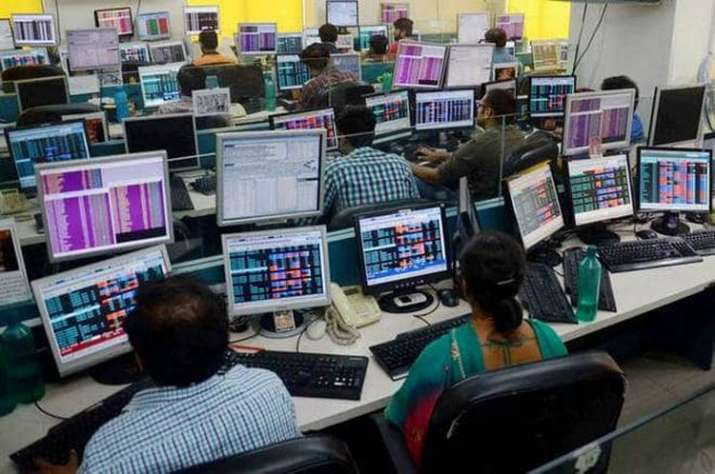 Sensex went past the 36,700-mark to scale a high of