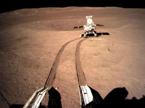China's Chang'e-4 lunar rover leaves first-ever 'footprint'