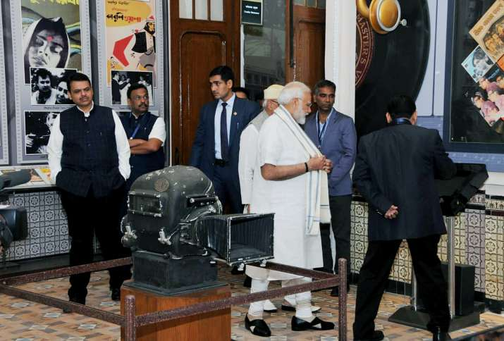 India Tv - Historical glimpse into 105-year Indian Cinema: PM Modi unveils first cinema museum, in pics