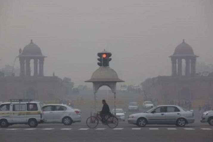 Delhi pollution.