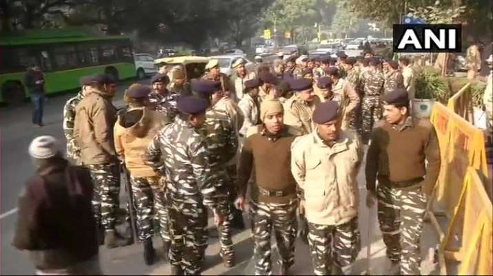 India Tv - Delhi: Security outside the Supreme Court