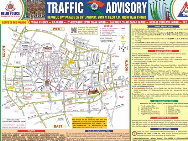 India Tv - Delhi Traffic Police advisory