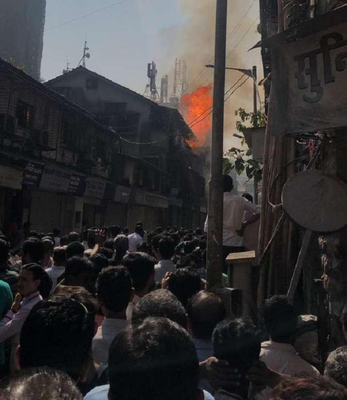 Mumbai fire incident
