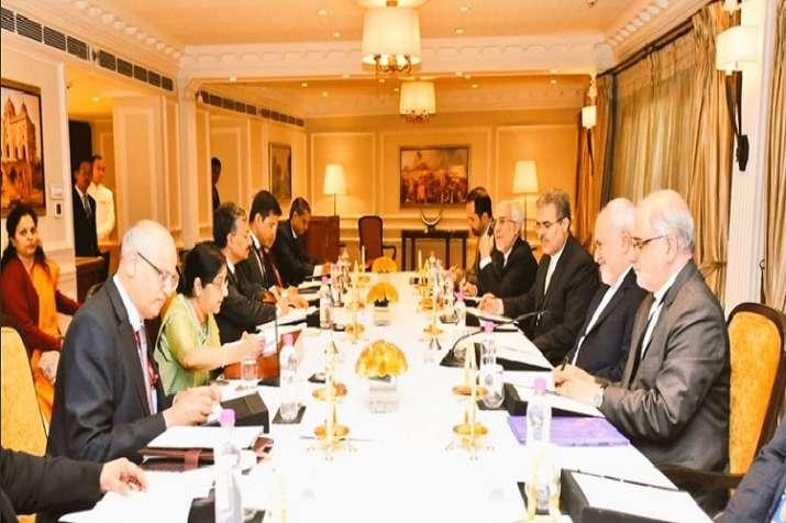 External Affairs Minister Sushma Swaraj met Iranian