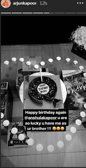 India Tv - Arjun Kapoor's birthday surprise for Anshula