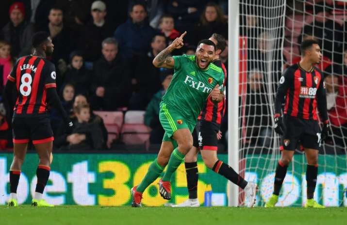 India Tv - 6 goals scored as Watford draw Bournemouth 3-3