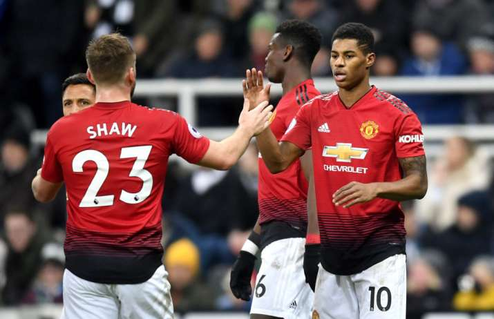 India Tv - Rashford scored the vital second goal for United
