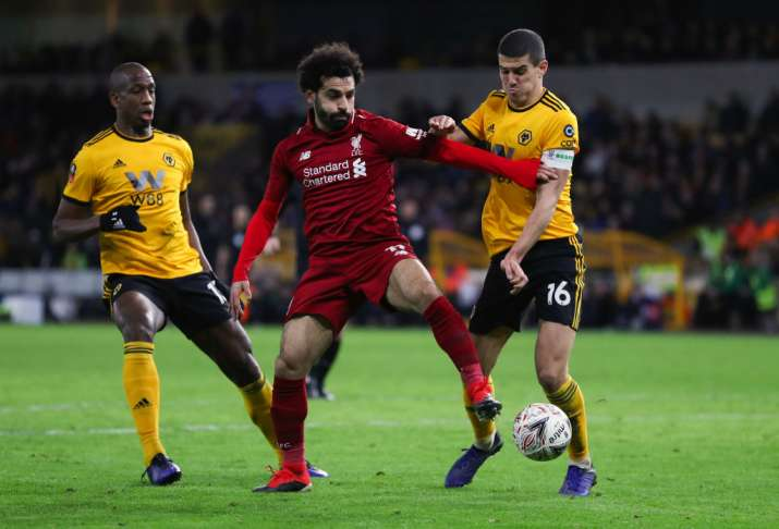 Makeshift Liverpool team loses to Wolverhampton 2-1 in FA Cup