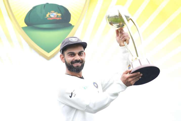 India Tv - 4th Test, Sydney - Match drew, India won the series by 2-1.