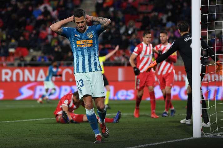 India Tv - Atletico were held by Girona