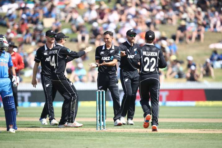 4th ODI: Boult's fifer leaves India in shambles as New