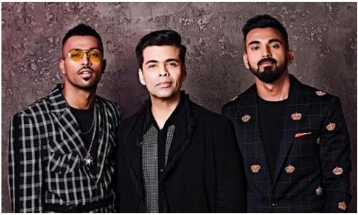 India Tv - Hardik Pandya featured on the show Koffee with Karan along with KL Rahul.