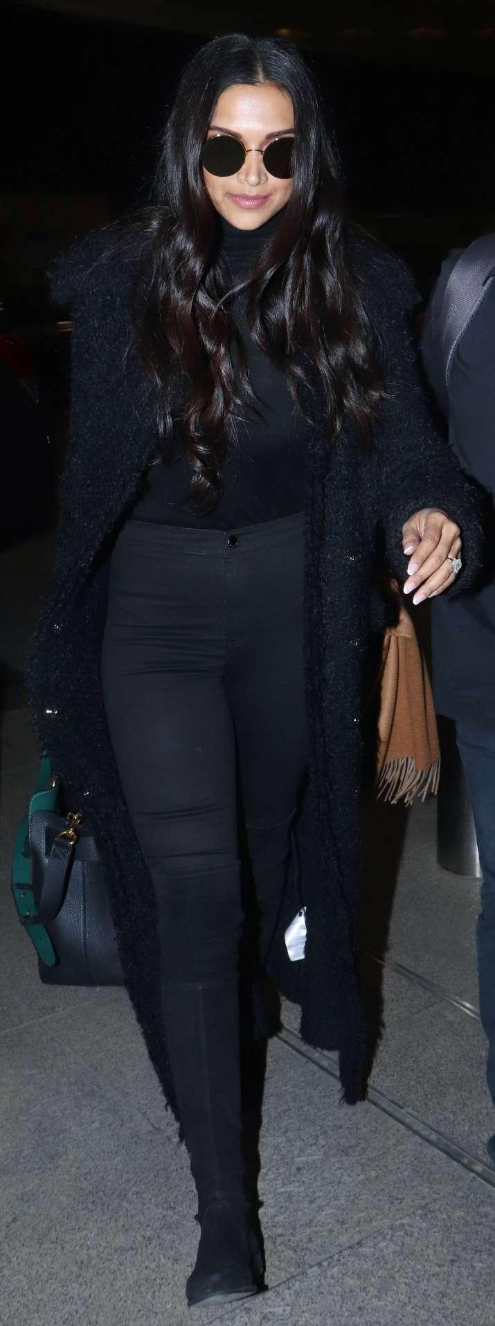 India Tv - Deepika Padukone spotted at Mumbai airport