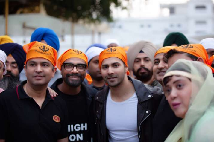 India Tv - Varun Dhawan starts shooting for ABCD 3 in Punjab. See pics