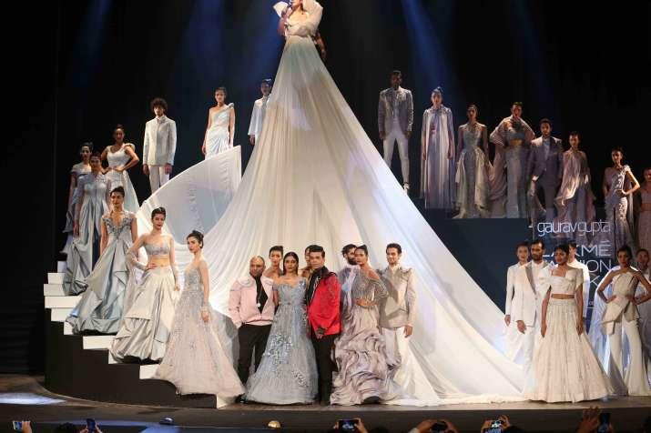India Tv - Lakme Fashion Week 2019 Grand Opening