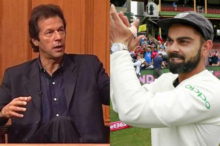 Pakistan PM Imran Khan congratulates Virat Kohli on maiden Test series win in Australia