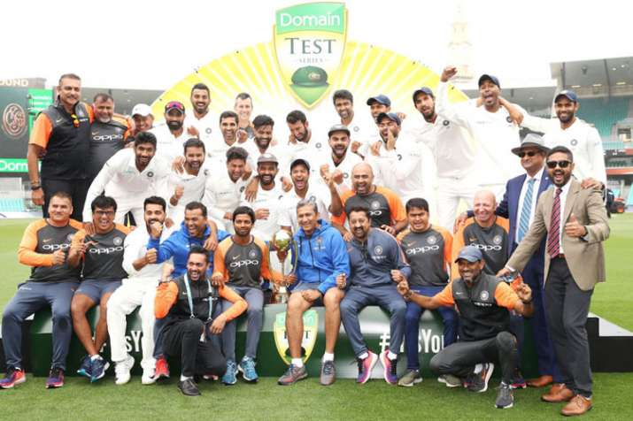 Sachin Tendulkar, Virender Sehwag lead wishes for Team India's emphatic series win over Australia af