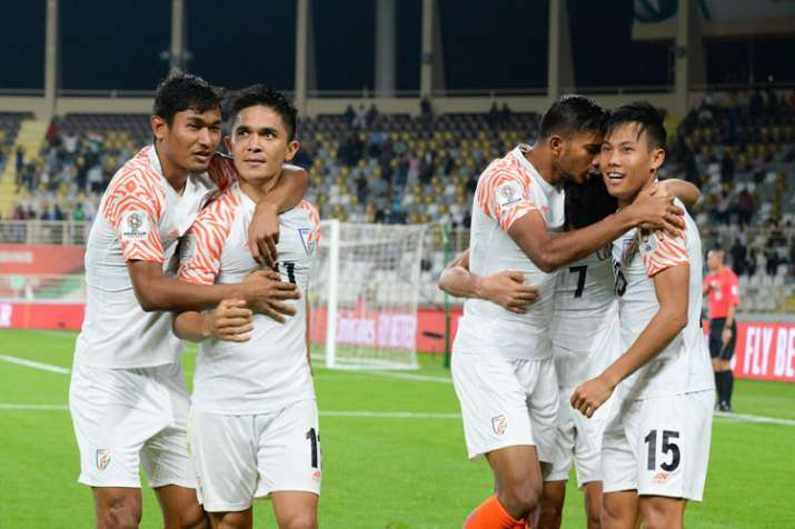 Indian football team donates Rs 50,000 to Indian Blind