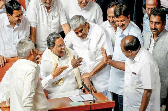 "The BJP alleged that the Congress MLAs ""feared for their"