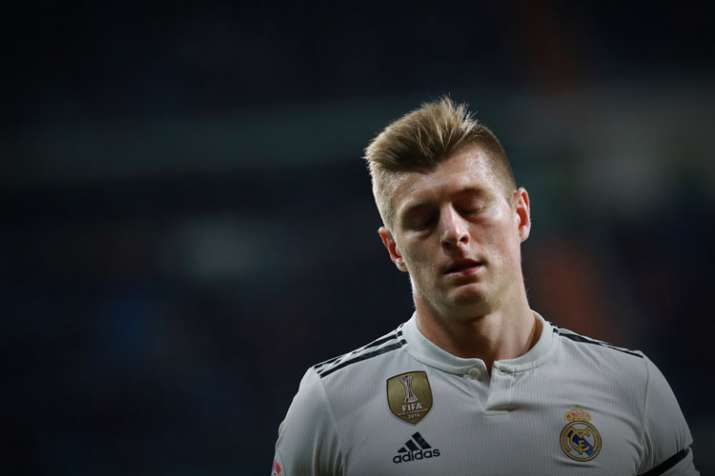 Real Madrid midfielder Toni Kroos sidelined for three weeks with ... c9a8822dc