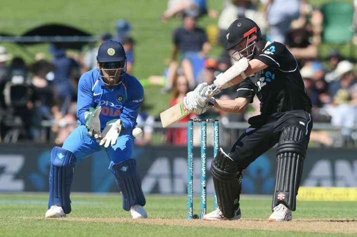 India Tv - Williamson's 50 gives NZ hopes in first ODI