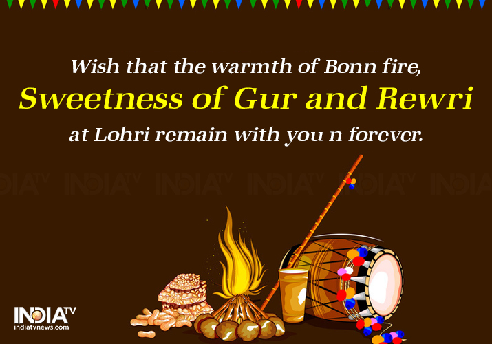 India Tv - Happy Lohri 2019: Facebook, WhatsApp Messages, SMS, Wishes, HD images and Greetings