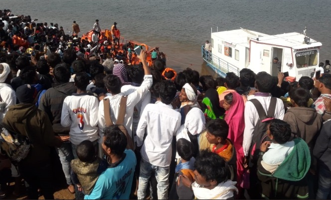 Altogether 36 persons have been rescued so far, and are