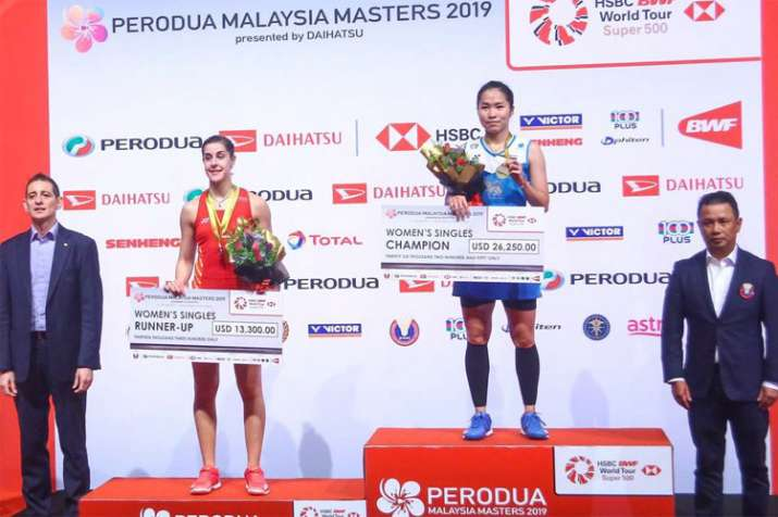 Malaysia Masters: Thailand's Ratchanok Intanon beats Carolina Marin in summit clash