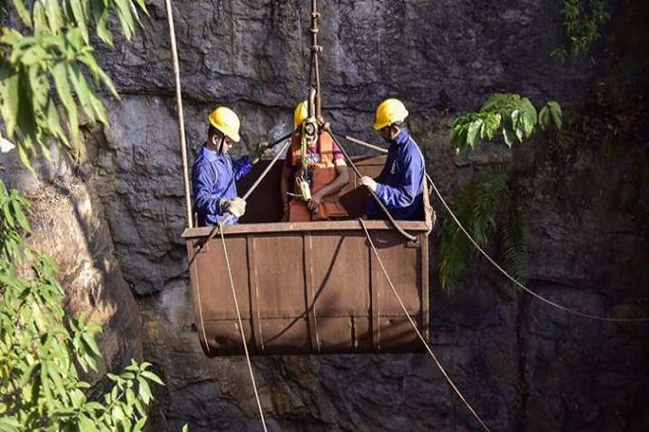 Meghalaya mine