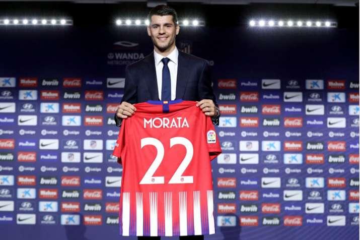 Atletico Madrid Aktifkan Klausul Rilis Alvaro Morata
